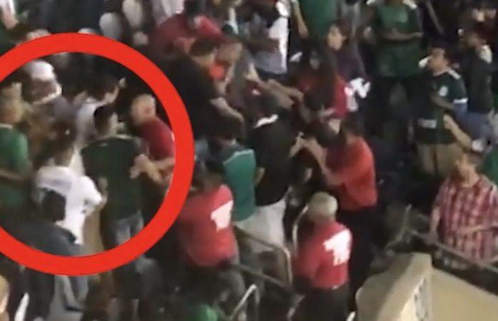 Violencia en la final de la Copa Oro 2019