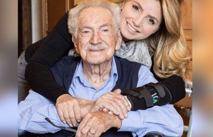 Fallece a los 98 años de edad el abuelo de Angélica Rivera