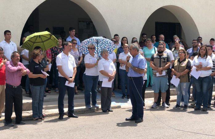 Oran en aldama por empleado municipal levantado por comando