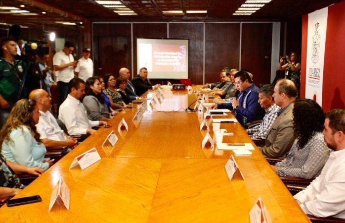 Instalan consejo de participación social en educación de Juárez