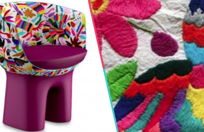 Louis Vuitton plagia bordados mexicanos y vende sillas en más de 300 mil pesos