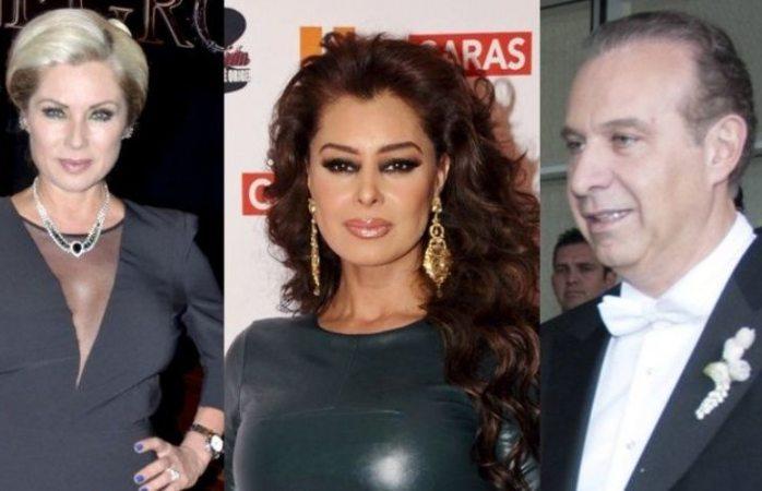 Leti Calderón guarda silencio ante detención de su ex esposo Juan Collado