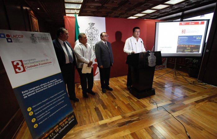 Será Juárez sede del tercer congreso latinoamericano de ciudades fronterizas