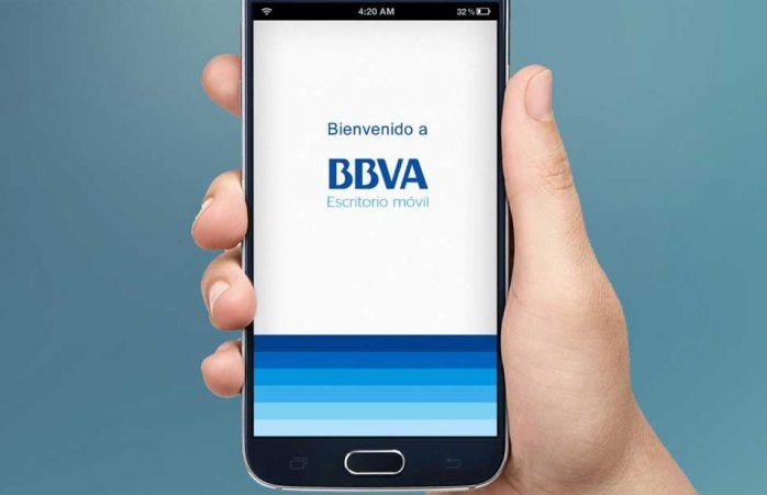 Reportan fallas en app de BBVA