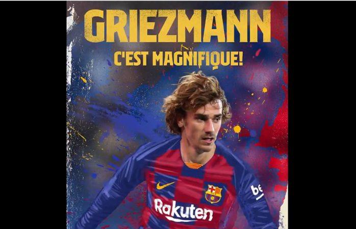 Oficial: Antoine Griezmann nuevo fichaje del Barcelona