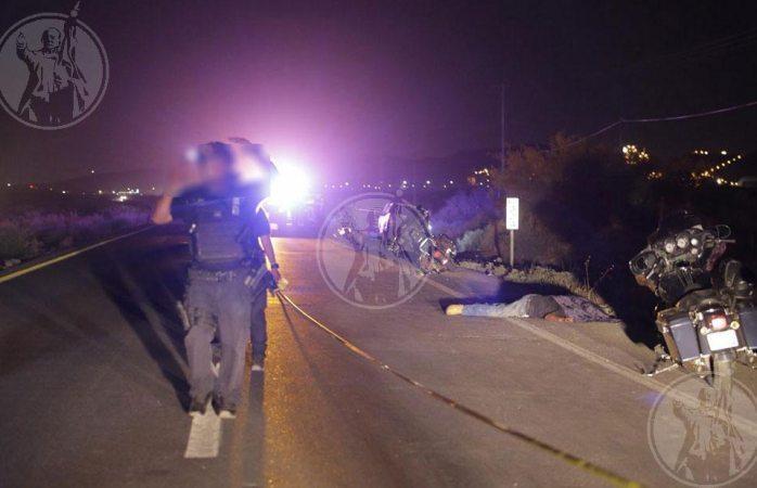Identifican a motociclistas ejecutados