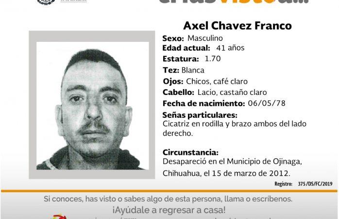 Busca FGR a siete desaparecidos; uno en Ojinaga