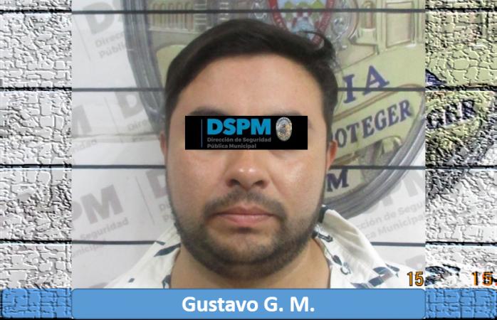 Detienen a uno acusado de robo en sucursal de farmacias