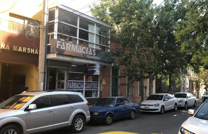 Roban en farmacia de la Ojinaga