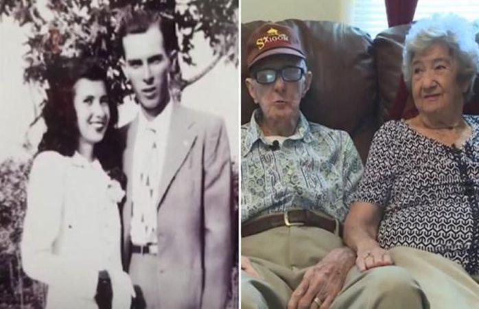 Después de 71 años de matrimonio, esta pareja de abuelitos murió el mismo día