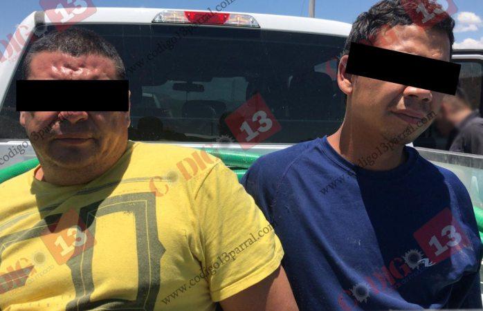 Caen dos presuntos implicados en levantón de municipales de SFC