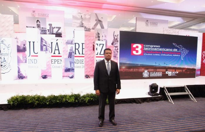 Nombran a Cabada presidente de ciudades fronterizas de latinoamérica