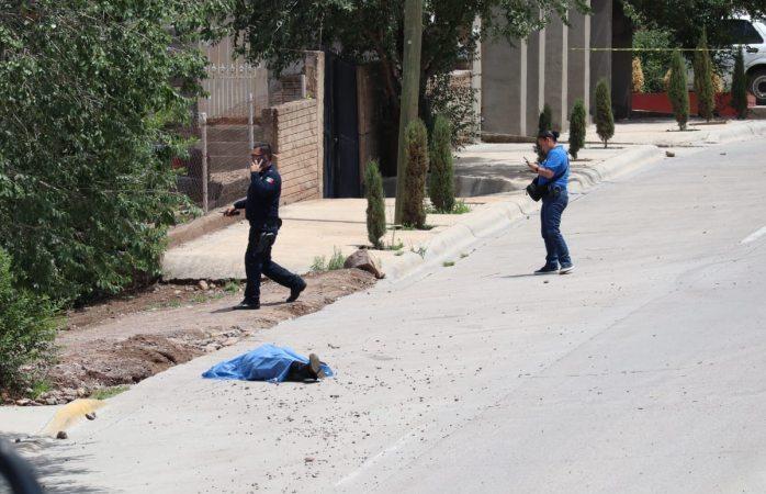 Era escolta de Efren Peñaflores Rodríguez el ejecutado de hoy