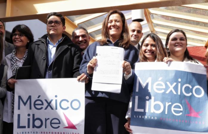 México Libre será un partido político en 2021: Margarita Zavala