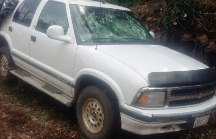 Encuentran en Batopilas dos vehículos robados