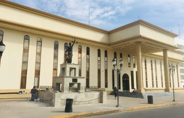 Le dan mantenimiento al palacio de justicia laboral