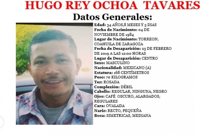 Buscan a uno desaparecido en Juárez