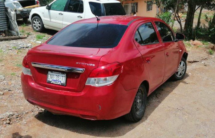 Recuperan dos autos robados en Cuauhtémoc
