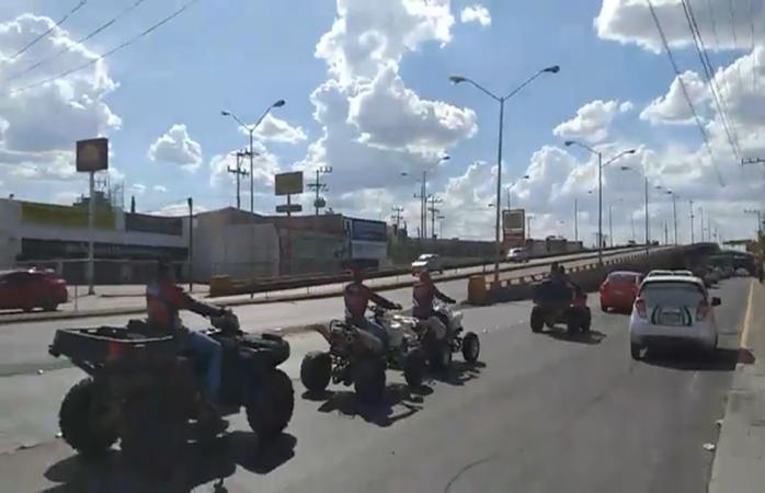 Los grupos bikers y razzors dan último adiós a Héctor Armando