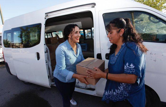 Reciben apoyos alimenticios asistentes a programa Cultura en Movimiento
