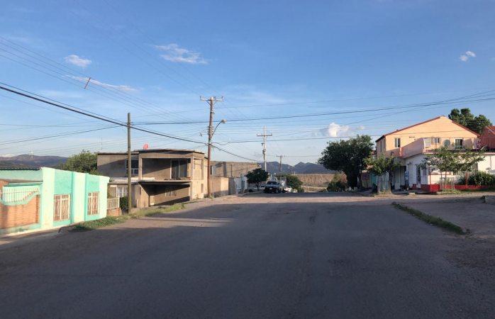Reportan apagones en colonias a la salida a Cuauhtémoc