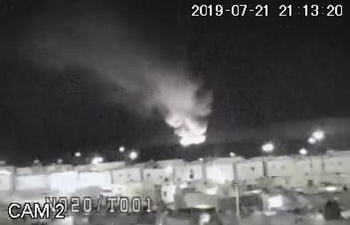 Vecinos de romanzza captan imágenes del incendio en relleno sanitario