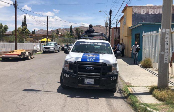 Envían a agentes estatales a cancha del Santo Niño