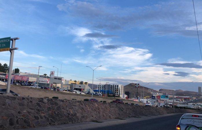 Martes con cielo nublado y máxima de 31°C