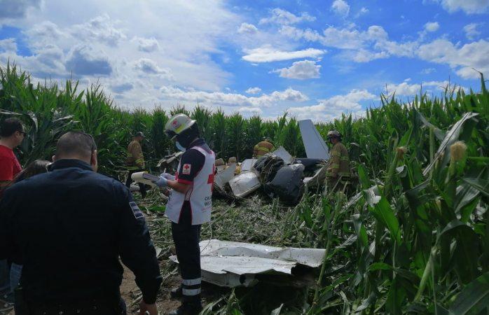 Oficial: fueron cuatro muertos en el avionetazo