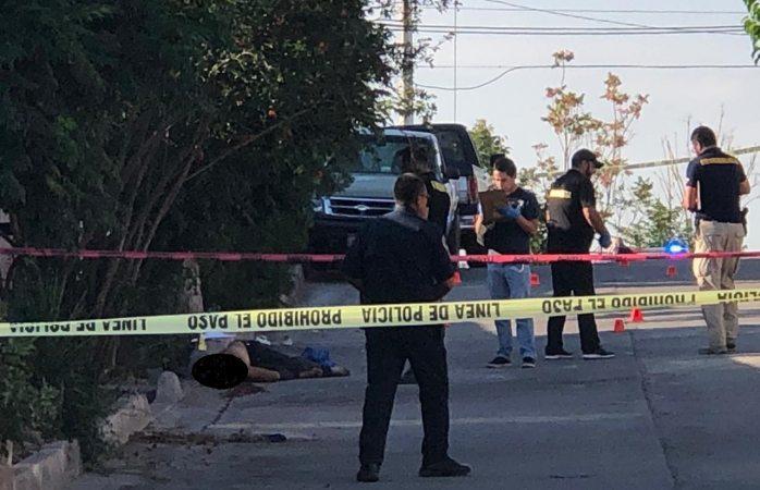 Triple ejecución en la colonia Josefa Ortiz de Domínguez