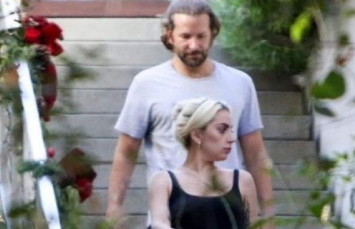 Difunden fotos de Lady Gaga al salir de casa de Bradley Cooper tras separación