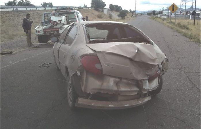 Registra este lunes tres accidentes viales en Juárez