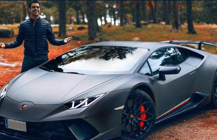 Un detenido por ir a 228 km/hora conduciendo un Lamborghini en Algete