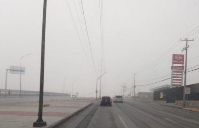 Recomienda tránsito precaución al conducir en temporal