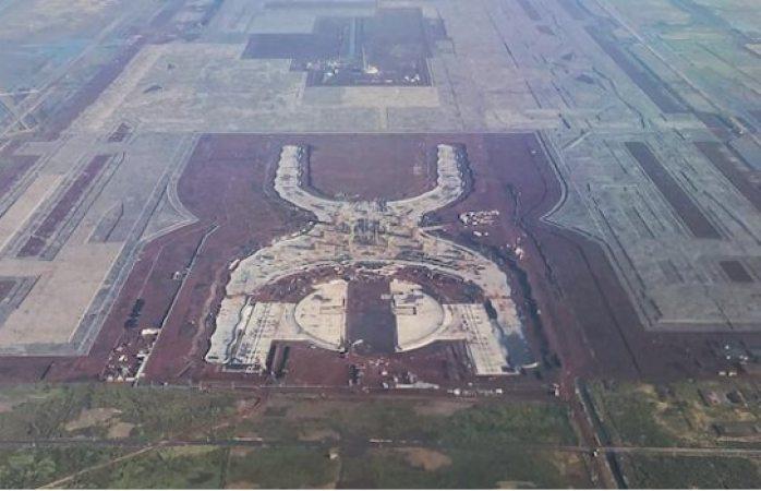 Ordenan mantener obra de construcción en Aeropuerto de Texcoco