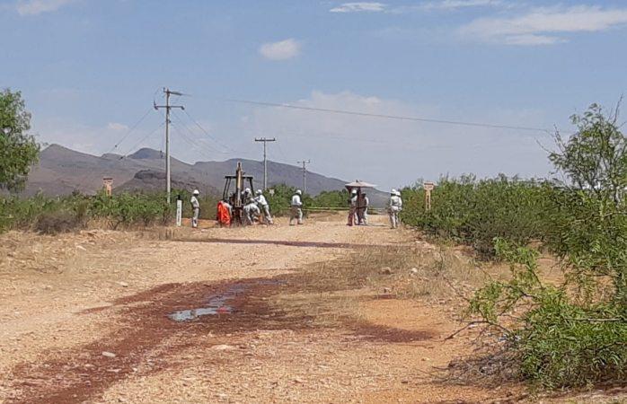 Detectan huachicoleo en toma clandestina en carretera a Aldama