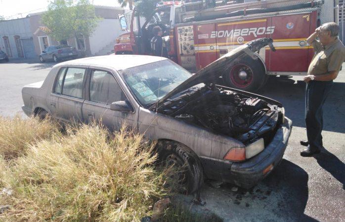 Alarma incendio en vehículo en circulación