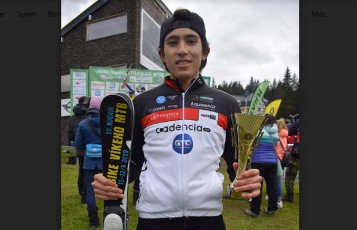 Ciclista mexicano ganó oro en torneo internacional de República Checa