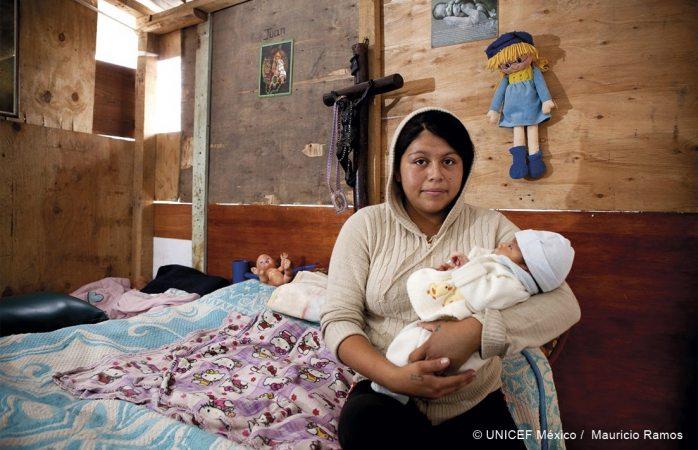 Vive ciudad Juárez el drama de las niñas madres