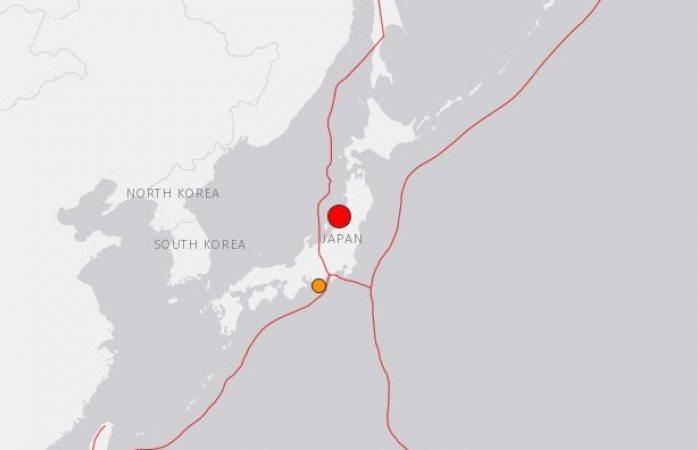 Se activa alerta de tsunami en Japón por terremoto de 6.8