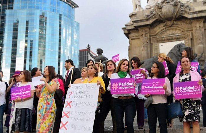 Acude Rosy Gaytán a declaratoria de reforma de paridad de género