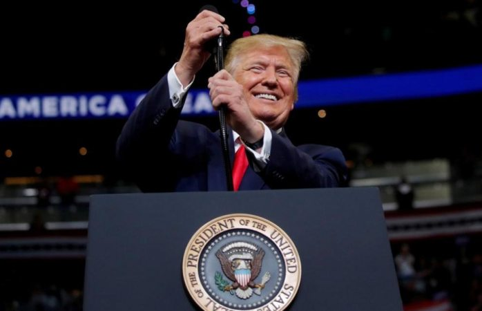 Inicia Trump campaña de reelección para 2020