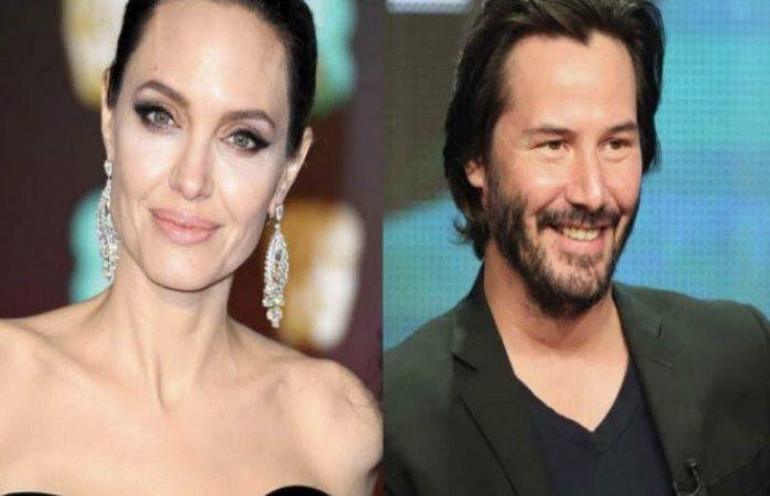 Angelina Jolie se enamoró de Keanu Reeves