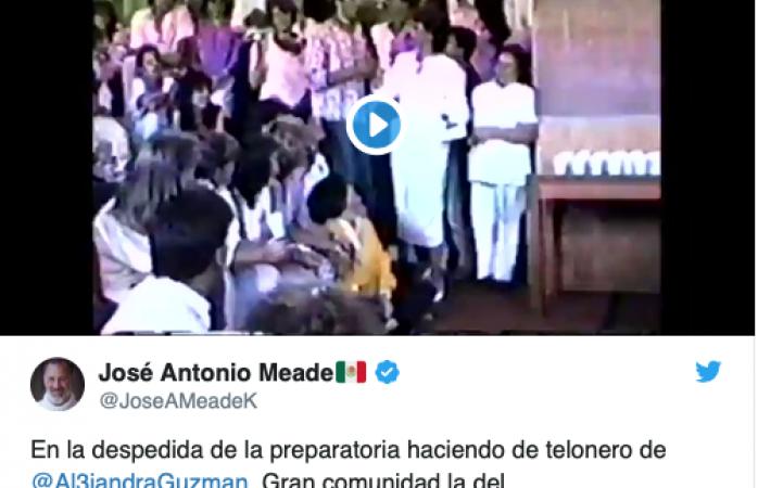Vídeo; se dice Meade telonero de Alejandra Guzmán