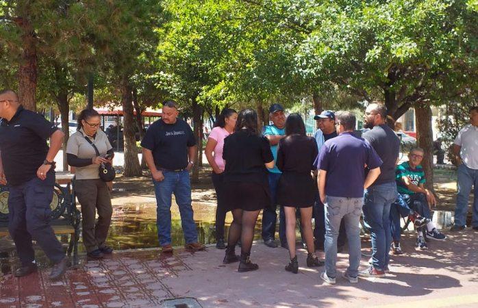 Protestan trabajadores de ceresos por condiciones laborales