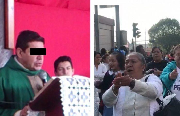 Feligreses exigen libertad de padre acusado de asesinar a Leo