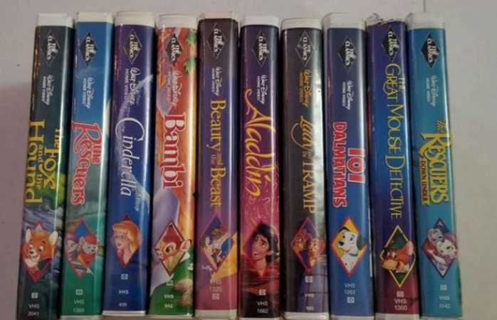 ¿Tienes cintas de Disney en VHS? las venden en más de $300 mil pesos en eBay