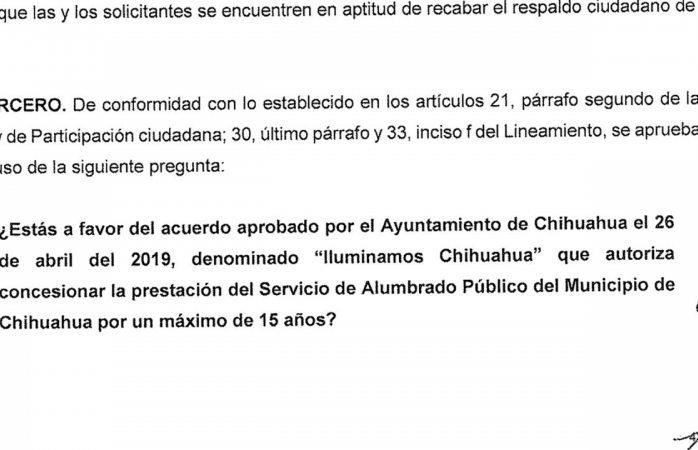 Checa las preguntas que se votarán en el plebiscito de Chihuahua y Juárez