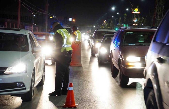 Detienen a 78 conductores ebrios el fin de semana