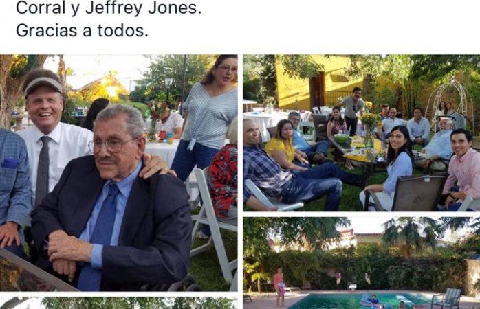 Asiste Corral a cumpleaños 95 del panista Alberto J Torres